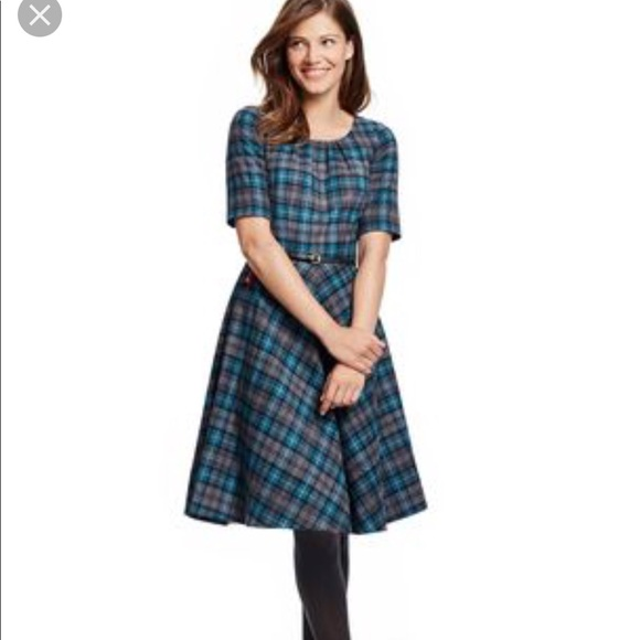 308575d6686 Boden Dresses   Skirts - Boden Isla Dress. Wool Plaid.